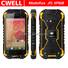 MFOX J5 IP68 Waterproof MTK6589T Quad Core 4.5 Inch Corning Gorilla Glass Touch Screen 1GB/16GB Outdoor Tools Rugged Phone