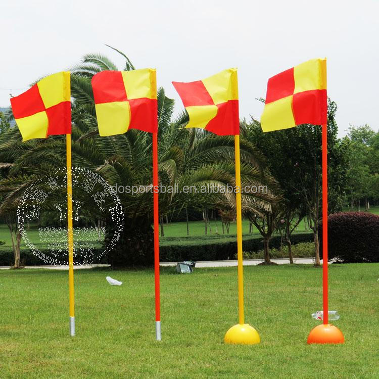 Sports Agility soccer / basketball training poles with spike base