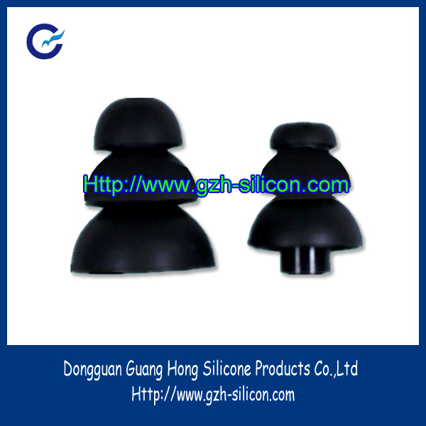 Customized stable anti-noise silicone eartips