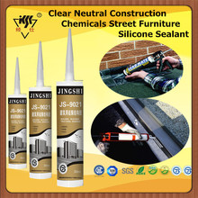 Clear Neutral Construction Chemicals Street Furniture Silicone Sealant