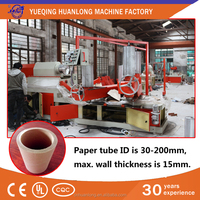 LTJ-4D paper core pipe making machine for big size paper tube