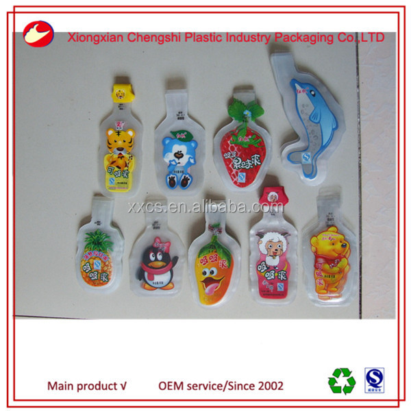 50ml,120ml,180ml plastic juice bag