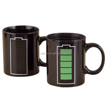 High Music Quality Colour Changing Ceramic Mug Sublimation For Present