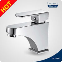 Bathroom saving wash hand basin taps