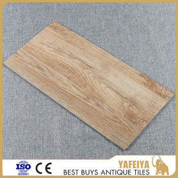 300x600mm Antique vintage design rectangle bedroom wood grain tile
