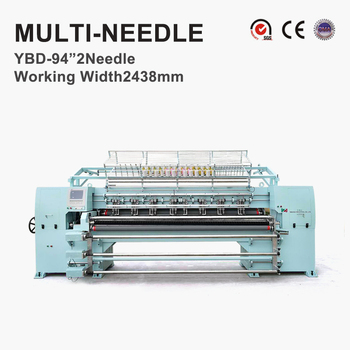 YBD94-2 needle Computerized Multi Needle Quilting Machines for sleeping bags