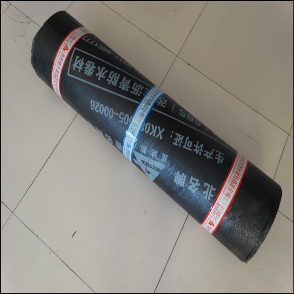 SBS type waterproof membrane for roof