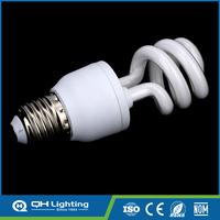 Lifespan 8000 hours 110v/220v e27 CFL energy-saving fluoresc lamp bulbs