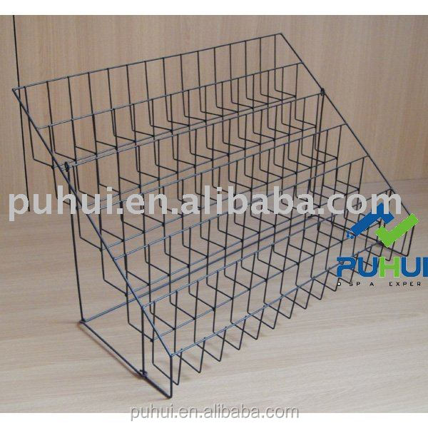 stores custom multi layers counter wire holder leaflet display rack