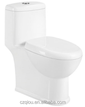 Economical small siphonic vortex One Piece S-trap toilets TO2862