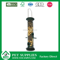 plastic tube bird feeders
