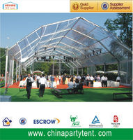 big luxury outdoor inflatable transparent tent event marquee