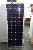 140W flexible solar panel for boat and suitable for marine environment