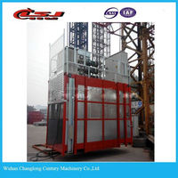 single or twin car construction elevator/construction hoist