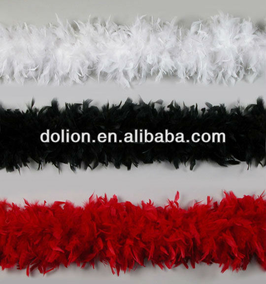 2013 Factory Wholesale Sexy Cheap Chandelle Feather Boas