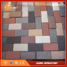 wholesale solid clay brick concrete gray paving brick cutting price