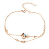 Ally Express Wholesale Bracelet Jewelry lovely fish crystal bracelet health bracelet