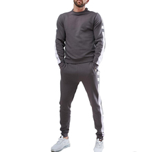 wholesale cotton clothing <strong>sports</strong> new style arrival gym jogger men's sweat suits
