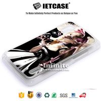 Drop shipping 2D metal sublimation plastic mobile phone cover PC TPU clear blank Case for LG Nexus4