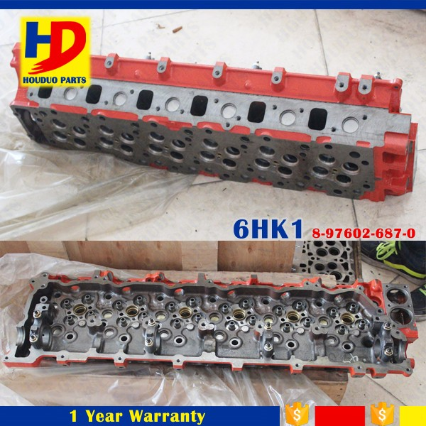 6HK1 In Stock Factory Price 6HK1 Cylinder Head Cylinder Block For Engine