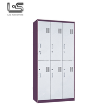 New superior quality steel almirah metal wardrobe inside design