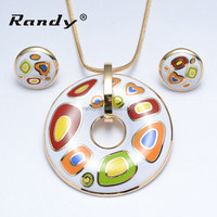 Cute Child Jewellery Sets Top Design Imitation Costume Jewelry With Enamel