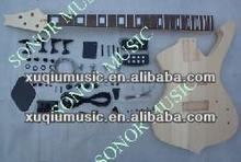 Cheap China Unfinished Electric Bass Guitar Kits for Good Sale