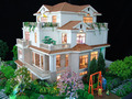 architectural scale model / scale model plastic buildings / modern building making