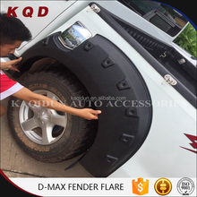 accessories car dmax wheel arch fender flare for d-max parts 2015isuzu d-max fender flare thailand car accessories supplier