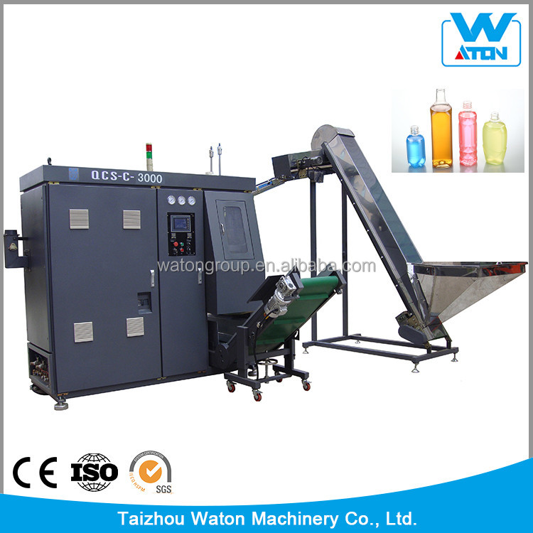 QCS-C-3000 Fast Automatic PET Plastic Bottle Stretch Blow Molding Machine and Mould
