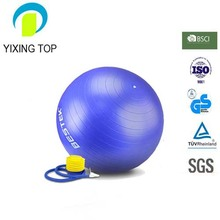 Custom Yoga Ball Anti-burst Inflate PVC Ball