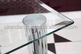 6 mm Edged Glass