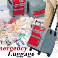 Survival Emergency Luggage Baggage Cases Containers