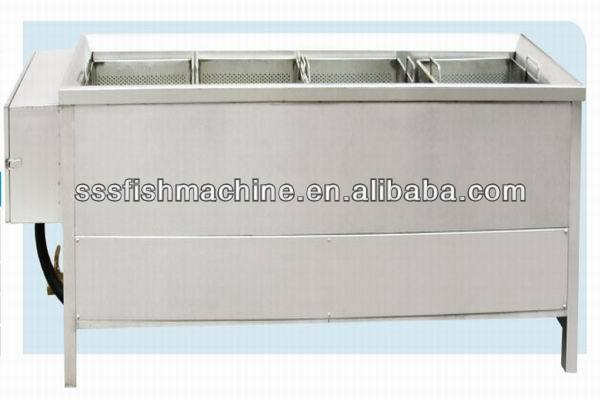 2014 china made alibaba supplier sold well stainless steel food vegetable blanching machine