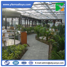 Complete huge Glass/Polycarbonate Sheet Greenhouse Project For Ecological Restaurant