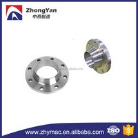ANSI B16.5 carbon steel material ASTM A105N 4 inch class 300 ms flange, rf weld neck flange for oil pipe