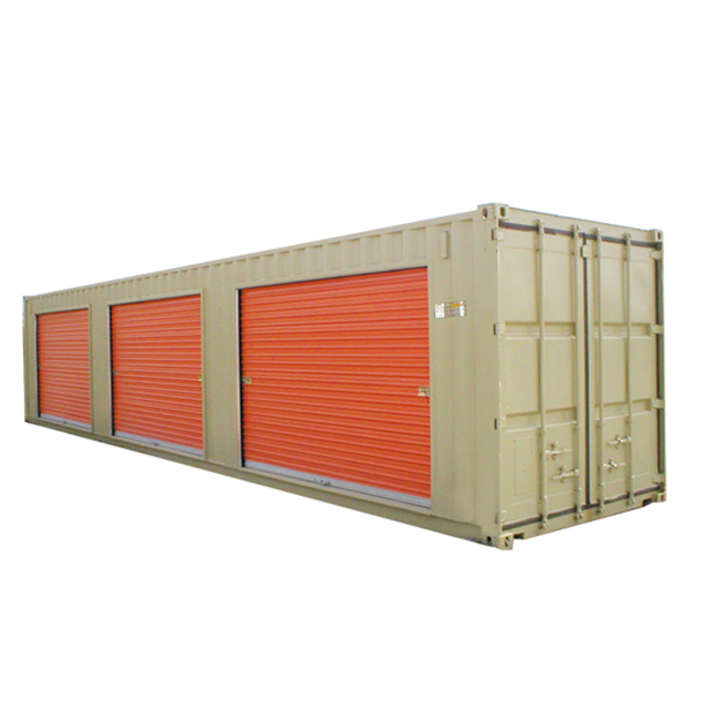 Roller Shutter Doors 40 ft Self Storage Steel <strong>Container</strong>