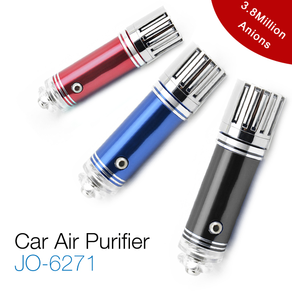 Hot New Portable Mini Car Air Purifier & Freshener JO-6271