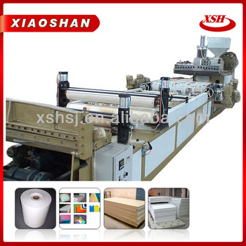 PP PE plastic bag extrusion machine