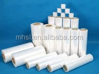 China Food & tableware LDPE stretch package and wrap blown film