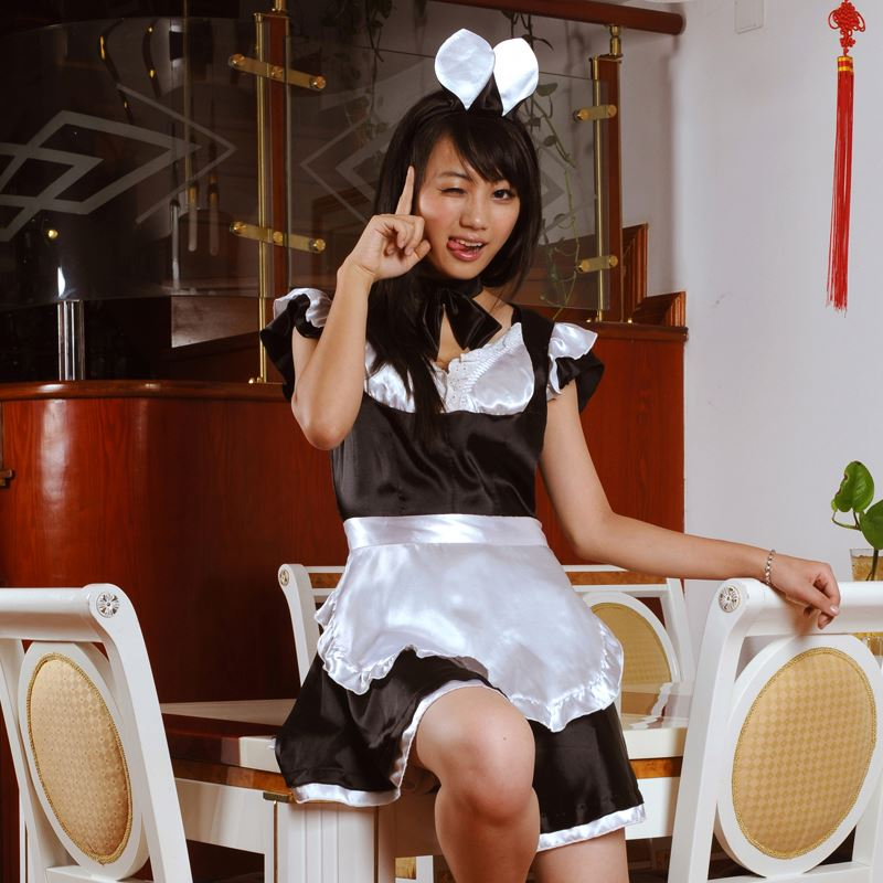 japanese sexy maid costume sexy naughty philippines maid costume made in china