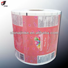 Plastic film for candy packaging