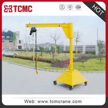 XINHUA XY type handy and safety mobile jib crane