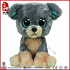Wholesale ICTI SEDEX Soft Baby Toy Stuffed Big Eye Dog