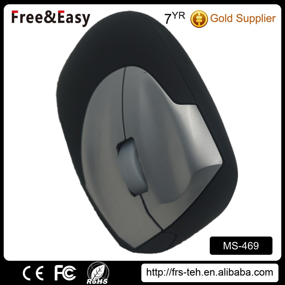 Ergonomic design cheap vertical 3D Optical mouse wired