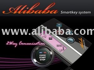 SMART KEY & START BUTTON INTEGRATED SYSTEM, CAR ALARM