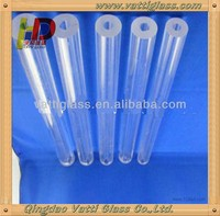 various color borosilicate / pyrex glass tube wholesale