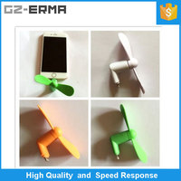 2016 New Arrive Mini Fan For Iphone 5/5s/5c/6/6 plus with iphone USB Easy-Carry Cool Wind