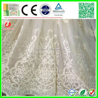 Good Hand Feel Anti Bacterial embroidery fabric for wedding dress