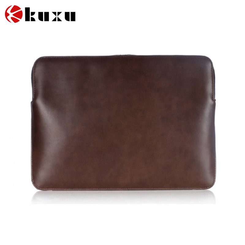 china alibaba High Quality Fashion Designed Computer Bag Felt Leather 17.3 Laptop Sleeve
